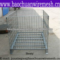Durable wire mesh container with reasonable price in store(manufacturer)