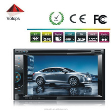 6.2inch double din Car DVD Stereo with GPS/BT/TV Radio FM transmitter