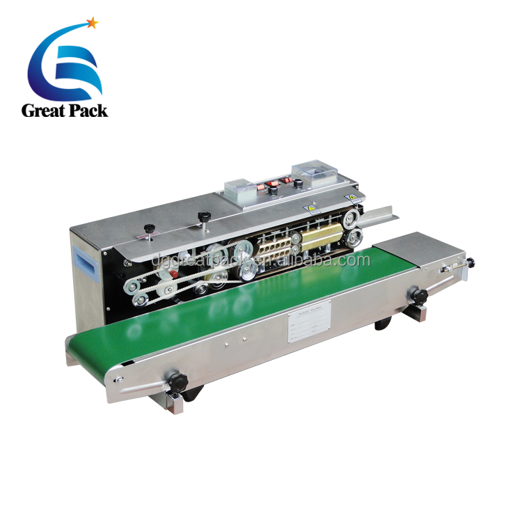 semi automatic frd-1000 solid-ink coding band sealer