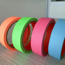 Good Quality Colorful Adhesive Masking Tape: Blue, Black, Brown, Green, Orenge, Red, Yellow, Etc