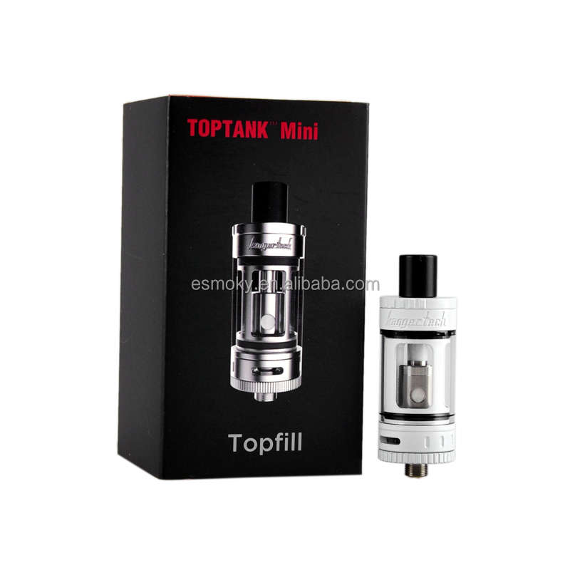 Huge Vapor Sub Ohm Tank Kanger Toptank mini 4.0ml with clear glass easy to clean