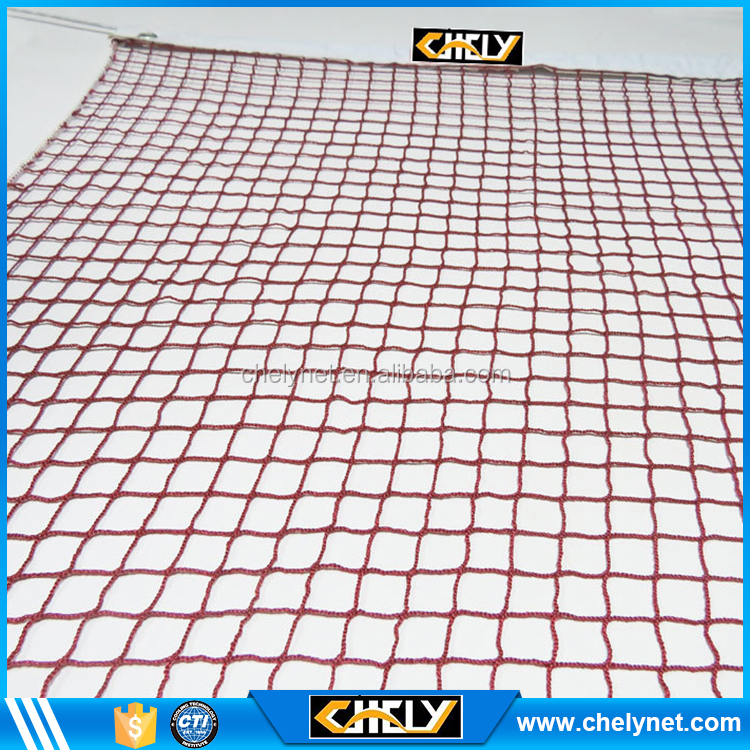 Best selling wholesale outdoor standard red tennis rebound net