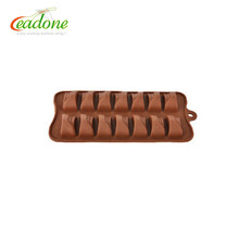 Reasonable price unique design various colors silicon molds for chocolate