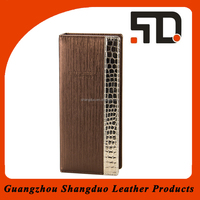 Manufacture Best Quality Genuine Leather Case Remote Control Cover