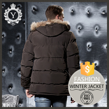 COUTUDI fashion comfy <strong>apparel</strong> super warm <strong>mens</strong> fur hood quilted puffer jacket /fleece lined bomber jacket