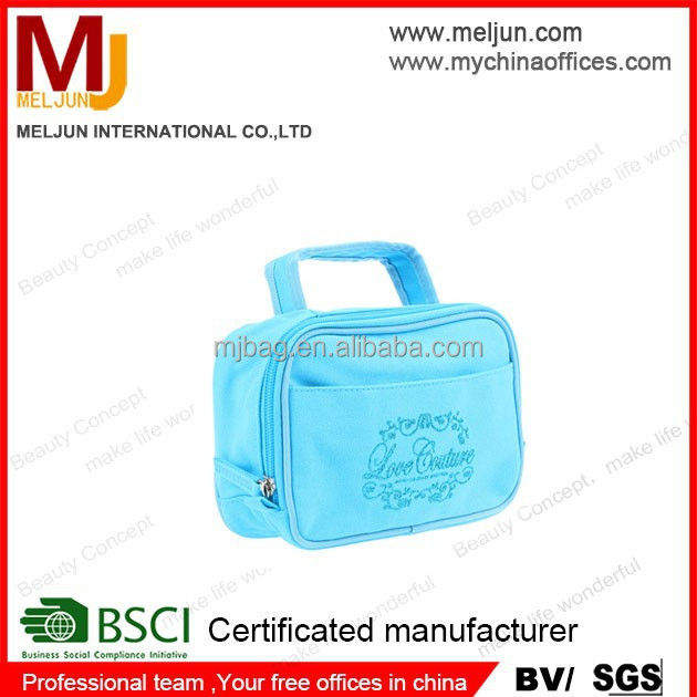 china factory custom travel wash bags with logo printing travel make up case travel cosmetic bags