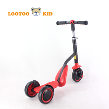 Alibaba china factory wholesale cheap price 2 in 1 multifunctional tri scooter sale for kids