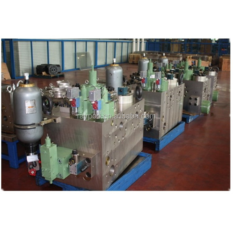 Internal high pressure forming hydraulic machine hydraulic valve unit