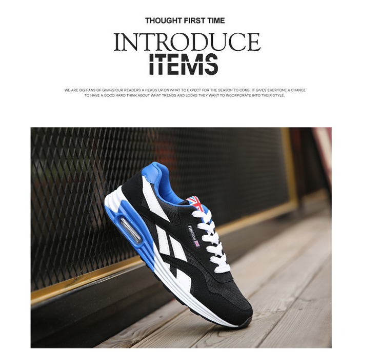 colorful fishion sport shoes for men