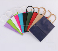 Packing bags customize printed logo luxury paper bag shopping cloth packing bags with best price