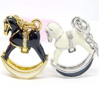 Horse Shaped Floating Pendants/Fashion Charms Jewellery