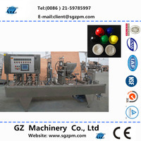 Low prices coffee capsules filling sealing machine
