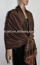 JDC-150 dubai muslim scarf with small stone in two side