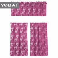 Wholesale Designs Balcony Fancy Kitchen Printing Curtains