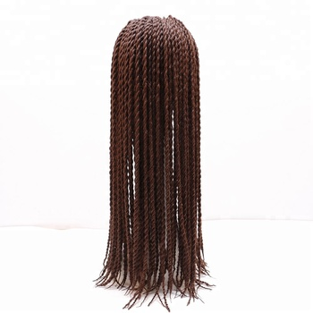 Synthetic Crotchet Twist Braids Hair Extensions Ombre Black Brown Jumbo Box Braiding Hair Senegalese Twist Hair 1pcs/lot