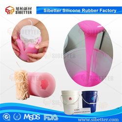 Good Fluidity Liquid Silicone Rubber for Candle, Soft RTV Silicone for Candle