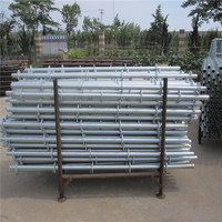 Wedged Lock Scaffolding For Building Construction Material Steel Ringlock Scaffolding System