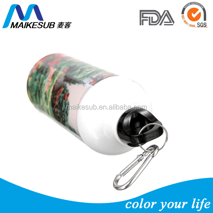 Sublimation Aluminum Sport Water Bottle for heat transfer