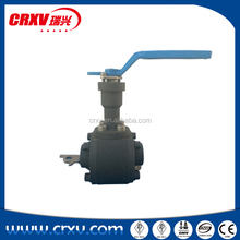 Extended Bonnet Ball Valve Extended 150mm 180mm 250mm Fire Safety Construction (API 607) Manual Operating