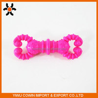 TPR Material Barbell shape Pet Toys for Dog