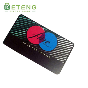 Customized logo screen printing card hollow out business metal business card