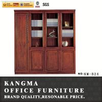 modular structure mahogany wood combination lock filing cabinet