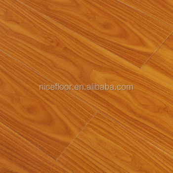 Wuhan nice brand high definition high glossy laminate flooring AC4 AC5 nice floor