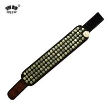 Affordable price thick leather cure rheumatism master warmth wear medical health far infrared rays jade belt