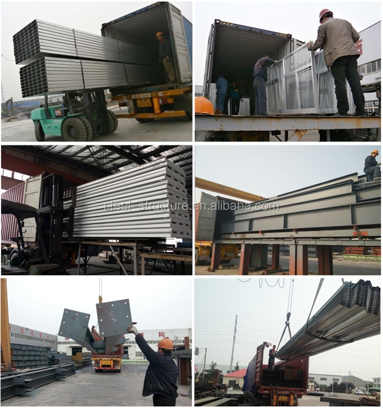 iron building of steel building shed from Qingdao yili