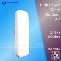 2.4G 2T2R MIMO 300Mbps High power wireless Outdoor CPE/wifi router with Atheros ar9341 chipset