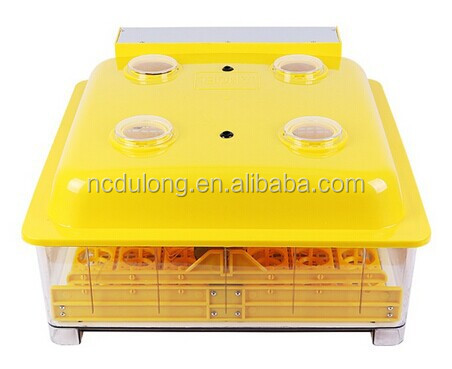 CE approved Janoel8-48 automatic quail egg incubator