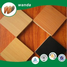 1220*2440mm double sides melamine faced mdf board 18mm