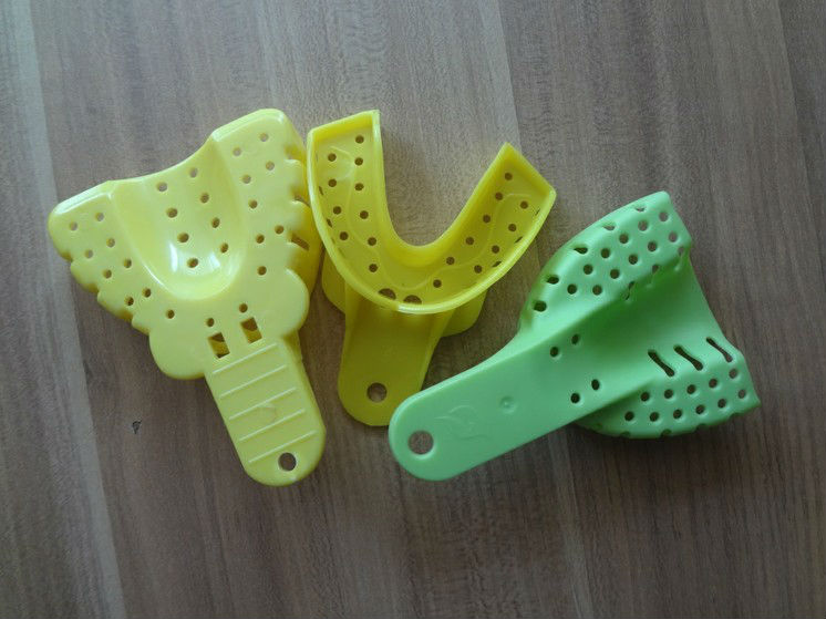 Disposable Perforated Dental Plastic Impression Tray