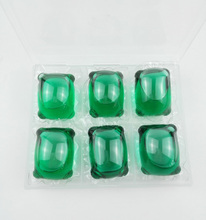 15G GREEN OEM Cloth Washing Detergent Pods Liquid Laundry Pods Detergent capsules