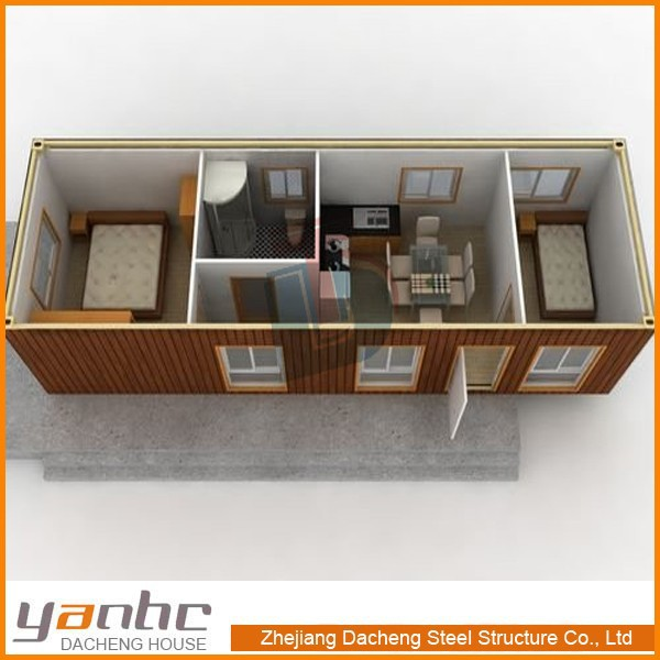 Container Houses 20 Feet 40 Feet Prefabricated Two Bedroom House Plans Buy