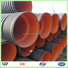sn8 hdpe 100mm corrugated pipe