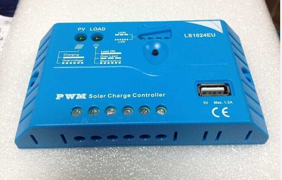 2015 NEW Pwm 12V 5A Solar Charge Controller for Small Solar Power System