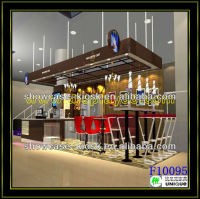 Factory Price coffee house, 2013 New Design Espresso Coffee Kiosk 10' * 15'
