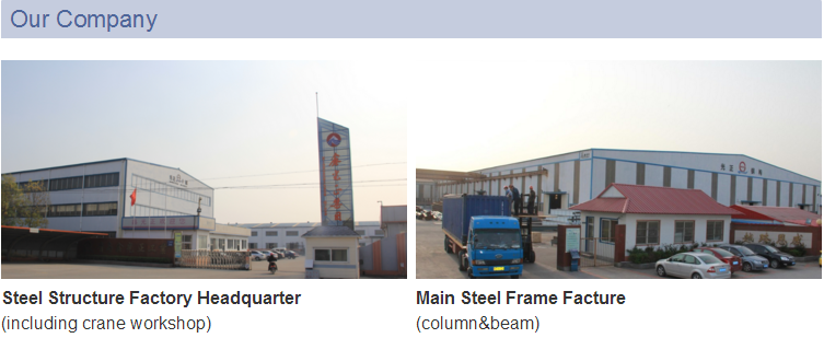 Professional steel structure exported manufacturer supply design installation one-stop founded in 1996