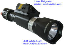 illuminated hunting led flashlight and laser riflescopes