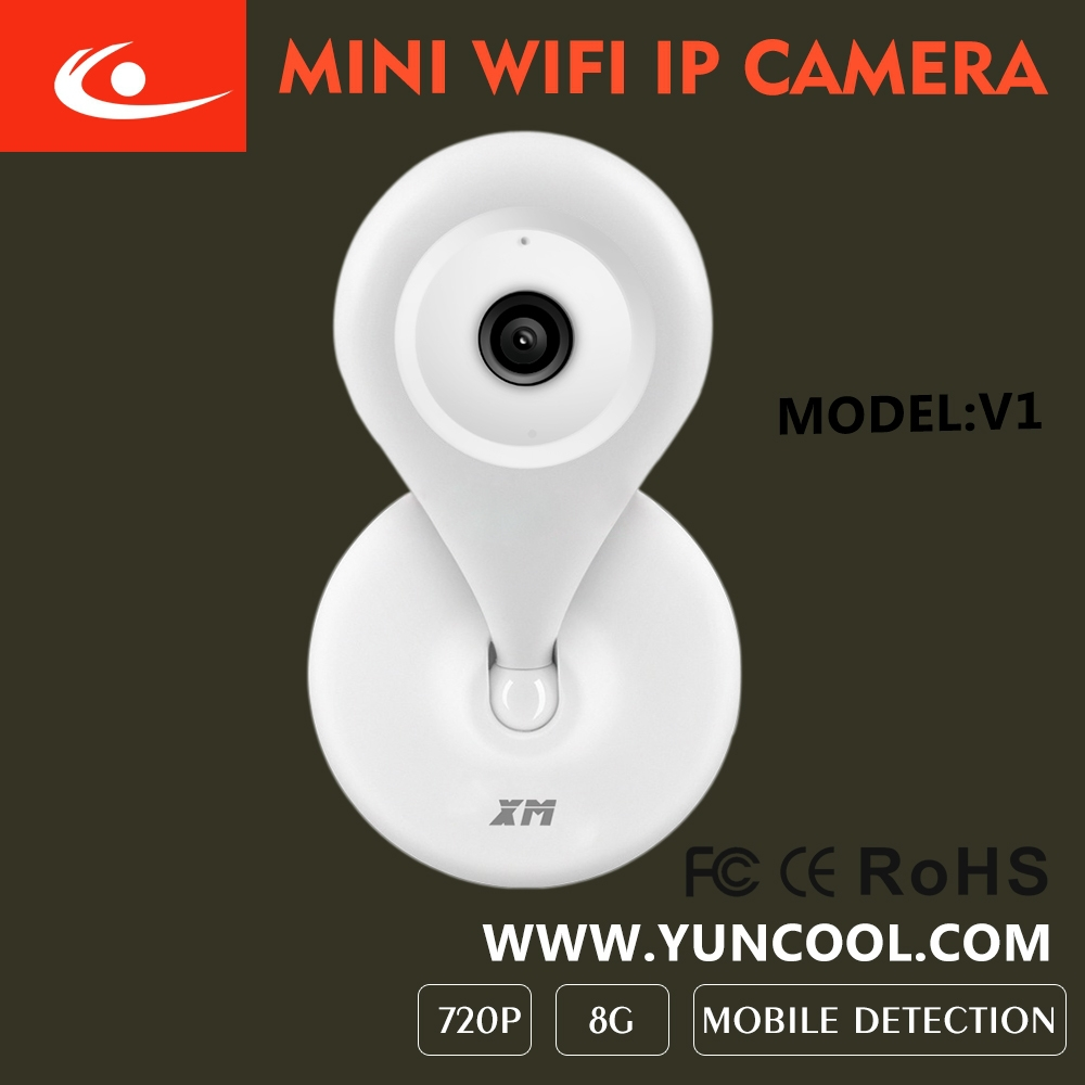 New <strong>WIFI</strong> 1.0mp HD Powered Wireless ip camera mini ip home monitor
