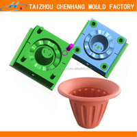 2015 customize cheap price plastic injection flowerpot p20 steel mould manufacturer in China