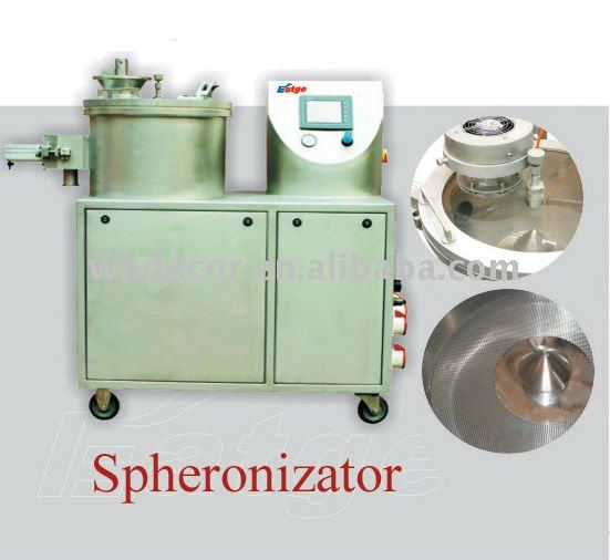 Spheronizer Rounding Machine Pharmaceutical Machinery