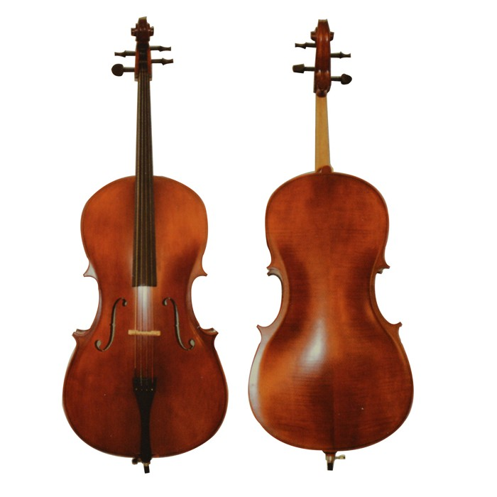Plywood Flame Cello AWCQ-05