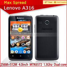 100% original new lenovo a316 google play wcdma with Russian language low price china wholesale