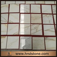 italy Calacatta carrara marble floor polishing tiles