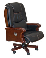 High End Swivel Upholstered Office Furniture Executive Leather Recliner Chair(FOH-B92)