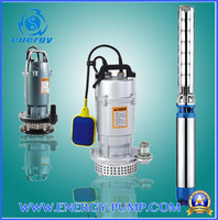 High Quality Qdx Cleaning Water Aluminum Electric Submersible Pumps / Float Switch with CE