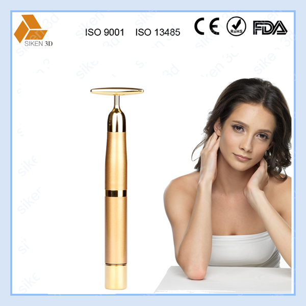 Water proof 6000Hz vibration 24K golden beauty bar
