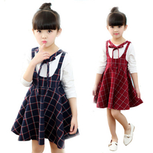 2018 fashion spring infant baby <strong>girl's</strong> <strong>dress</strong> strap <strong>dress</strong> birthday suspenders <strong>dress</strong> toddler children clothes